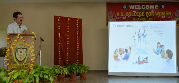 Guest lecture on cancer awareness